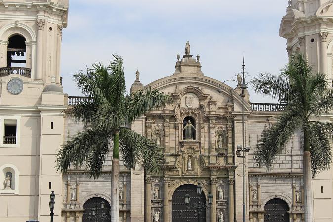 ボリビア・ペルー旅行:リマ 市内観光 カテドラル2
