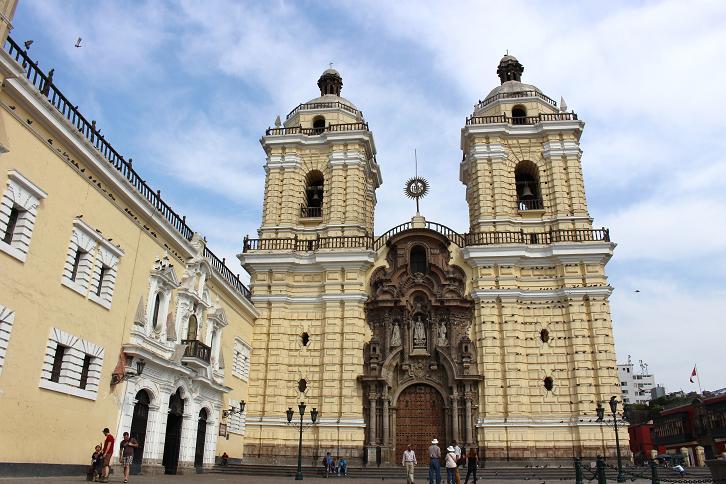 ボリビア・ペルー旅行:リマ 市内観光 サンフランシスコ教会・修道院2
