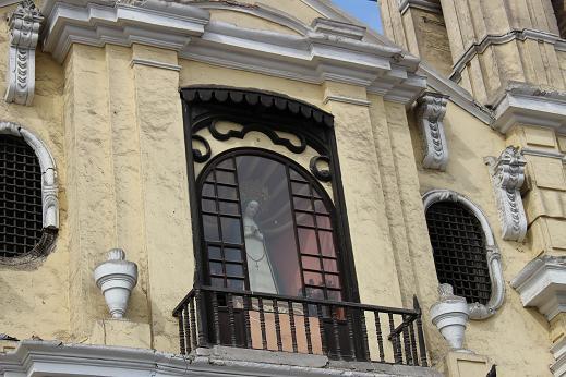 ボリビア・ペルー旅行:リマ 市内観光 サンフランシスコ教会・修道院4