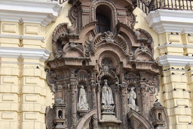 ボリビア・ペルー旅行:リマ 市内観光 サンフランシスコ教会・修道院5