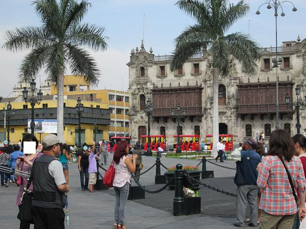 南米旅行:リマ 大司教宮殿