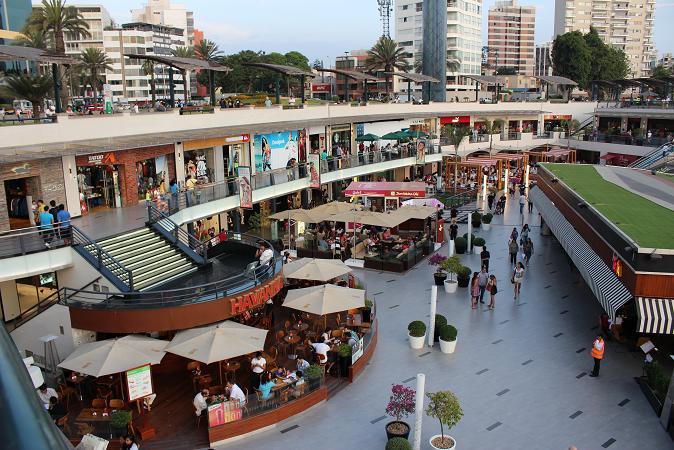 ボリビア・ペルー旅行:リマ ラルコマール・ショッピングセンター2