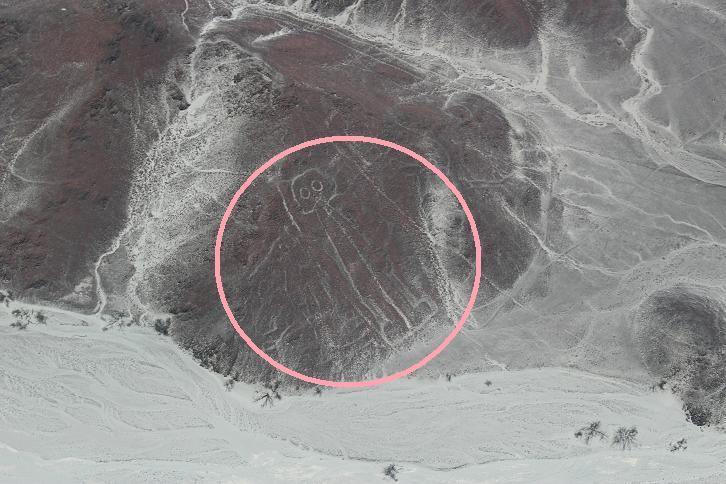 ボリビア・ペルー旅行:ナスカの地上絵 宇宙人