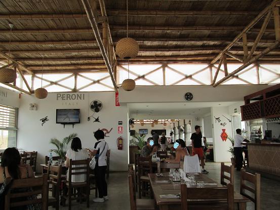 南米旅行:ピスコ レストラン