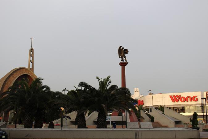 ボリビア・ペルー旅行:リマ サン・イシドロ 教会 像
