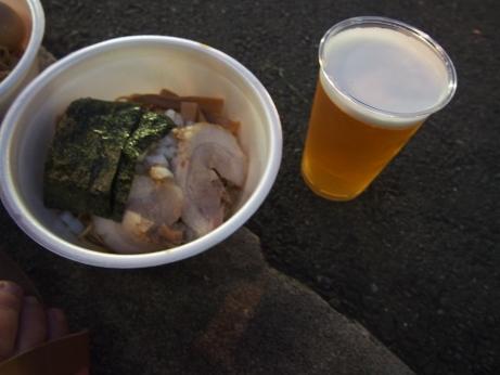 鶏油そば_500円