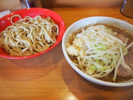140824_野猿街道_シークァサーつけ麺_麺少な目_ニンニク少な目