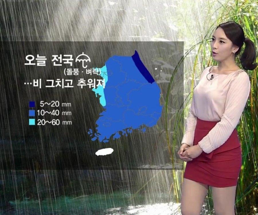 韓国キャスター1
