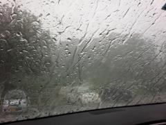 20140629ゲリラ雷雨代々木にて