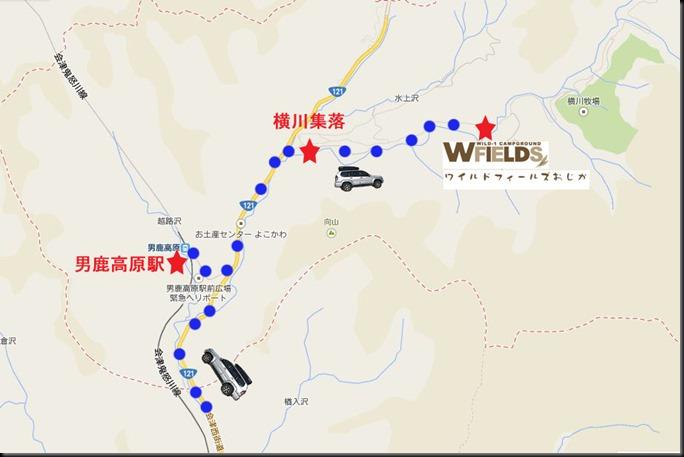 横川周辺地図