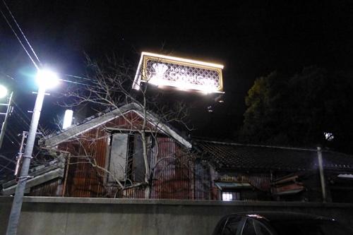 2014.2.22 夜の病院駐車場 (7)