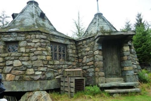 16ハグリッドの小屋