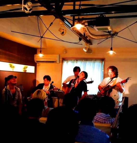 演奏中with林さん2