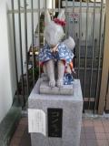 京急穴守稲荷駅 コンちゃん 2014年5月10日