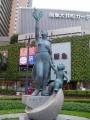 JR大井町駅 平和の誓い