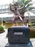 JR佐賀駅 面浮立像
