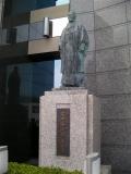 JR富山駅 安田善次郎翁之像