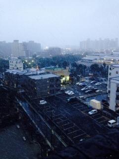 2の雪の街