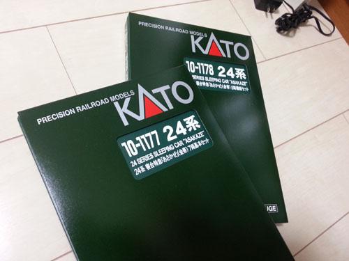KATO 24系金帯基本・増結セット