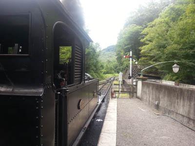 明治村SL12号機 東京駅出発