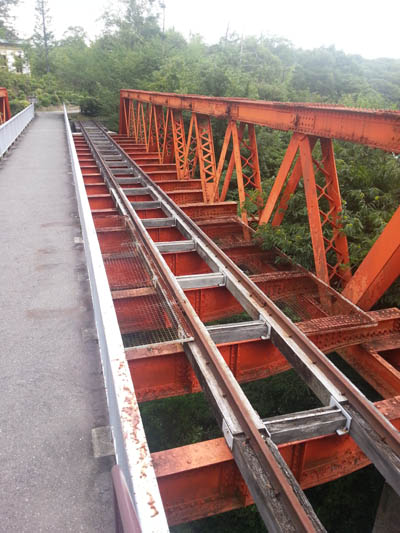 明治村 六郷川鉄橋