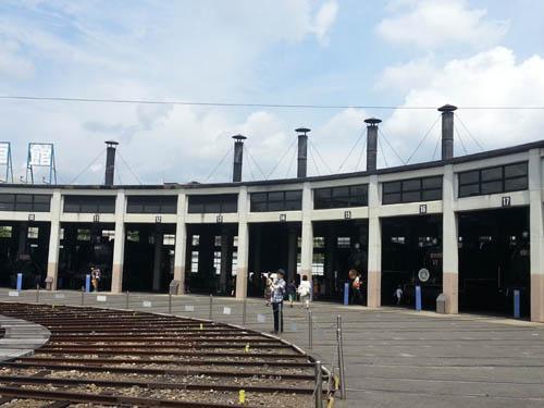 梅小路蒸気機関車館2