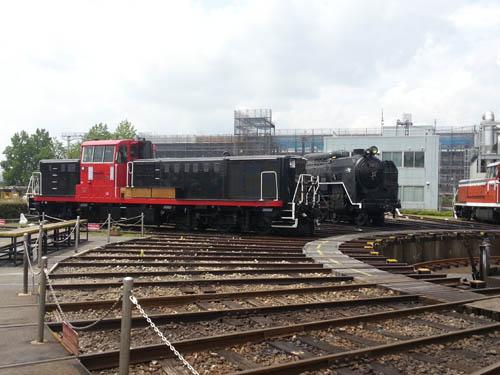 梅小路蒸気機関車館5
