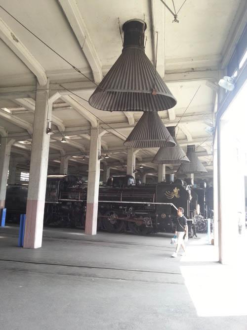 梅小路蒸気機関車館8