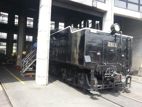 梅小路蒸気機関車館10