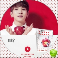 SHINee LUCKY STAR (通常盤)KEY汎用
