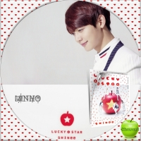 SHINee LUCKY STAR (通常盤)MINHO汎用
