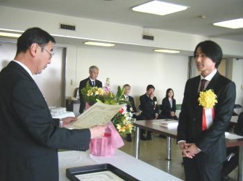 140225関地協表彰・福田厩務員2