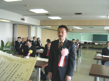 140225関地協表彰・島田厩務員2