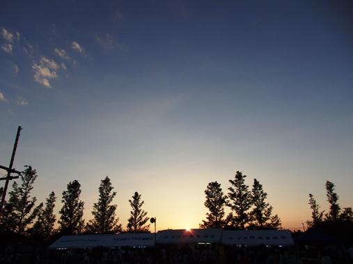20140802-21夕陽