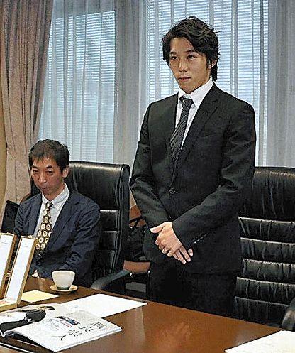 2014.9.5 読売新聞鳥取版「鳥取にリンクをと市長に」