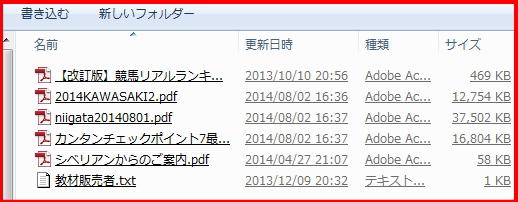 新潟競馬完全読本PDF