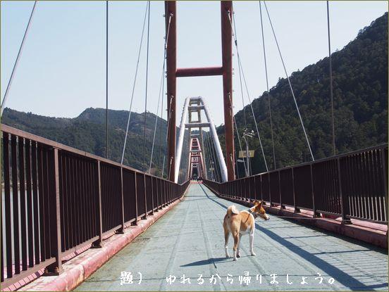 揺れる架け橋