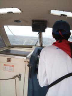 浜遊びモーターボート1