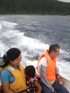 浜遊びモーターボート3
