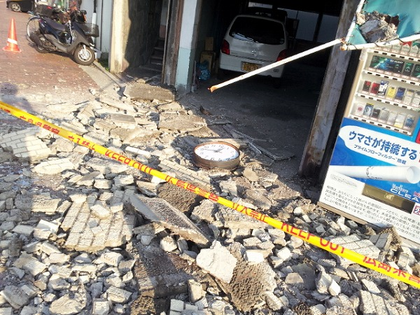 真夜中の地震3