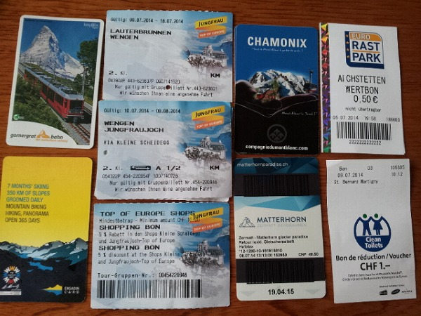 スイスの旅1