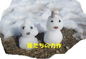 209 雪だるま ブログ