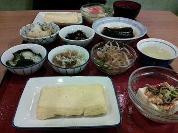 食堂夕飯 ブログ