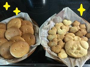 505孫たちの作ったクッキー ブログ