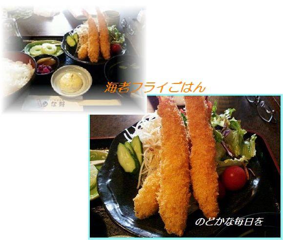 528海老フライ ブログ+海老フライ定食