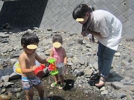 731 川遊び1 ブログ