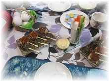 816夕飯3 ブログ