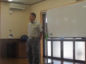 907 講師を招いて救命講習 ブログ