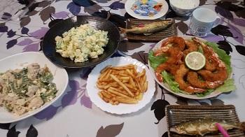 914夕食 ブログ