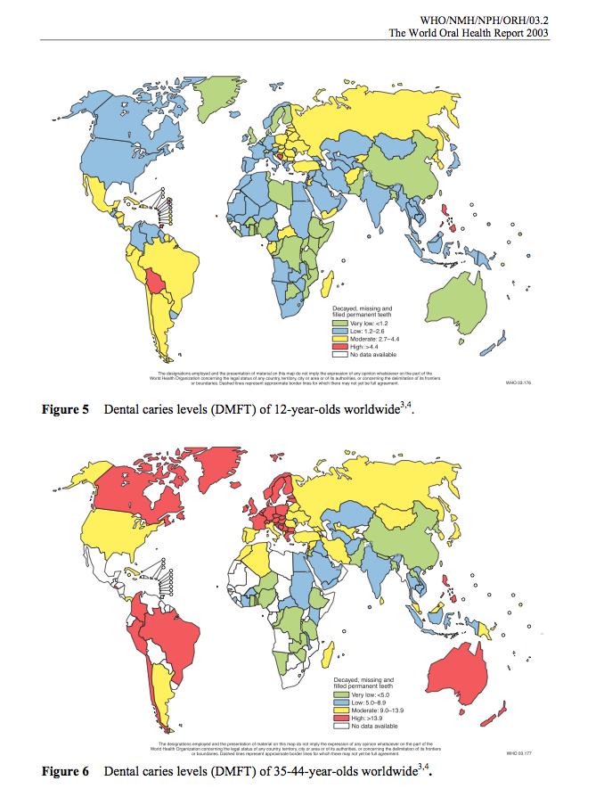 dmft 12 worldwide